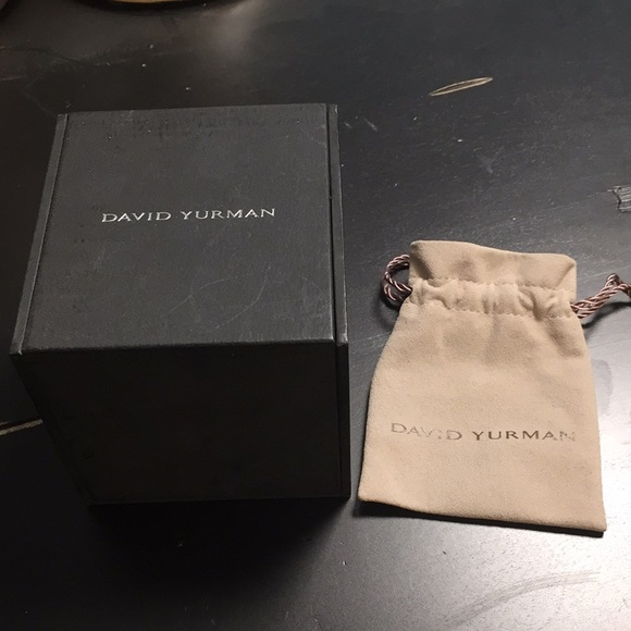 David Yurman Accessories New David Yurman Jewelry Box And Bag
